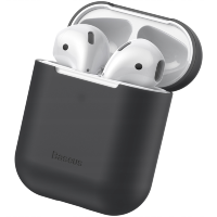 Чехол Baseus Case для Apple Airpods Чёрный